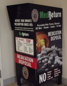 Drug-take-back-box